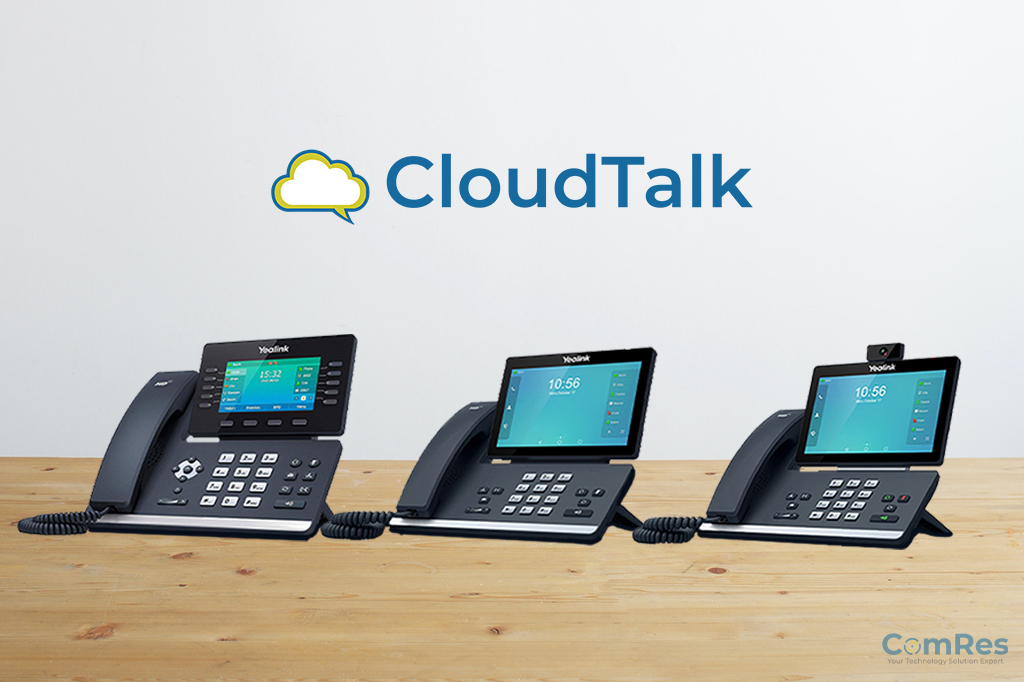 CouldTalk Telephone systems provide work from home solutions