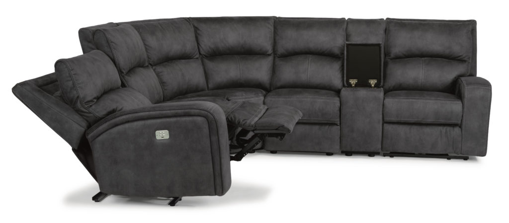 1150-57PH Flexsteel sectional with power head
