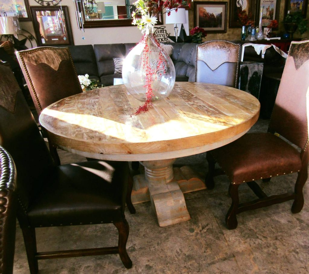 F4 Reclaimed Round Table