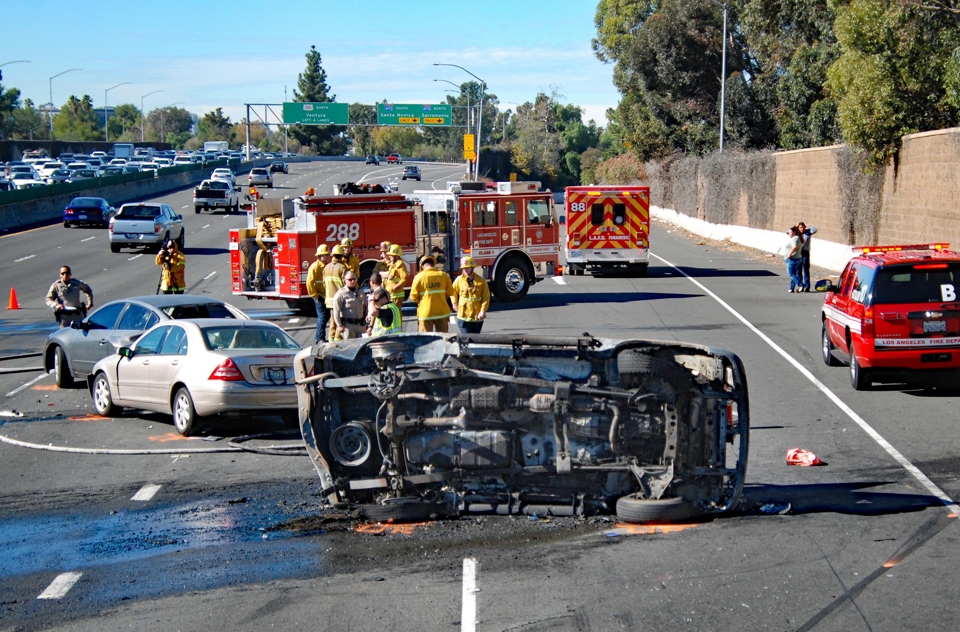 Accidentes en Riverside, California