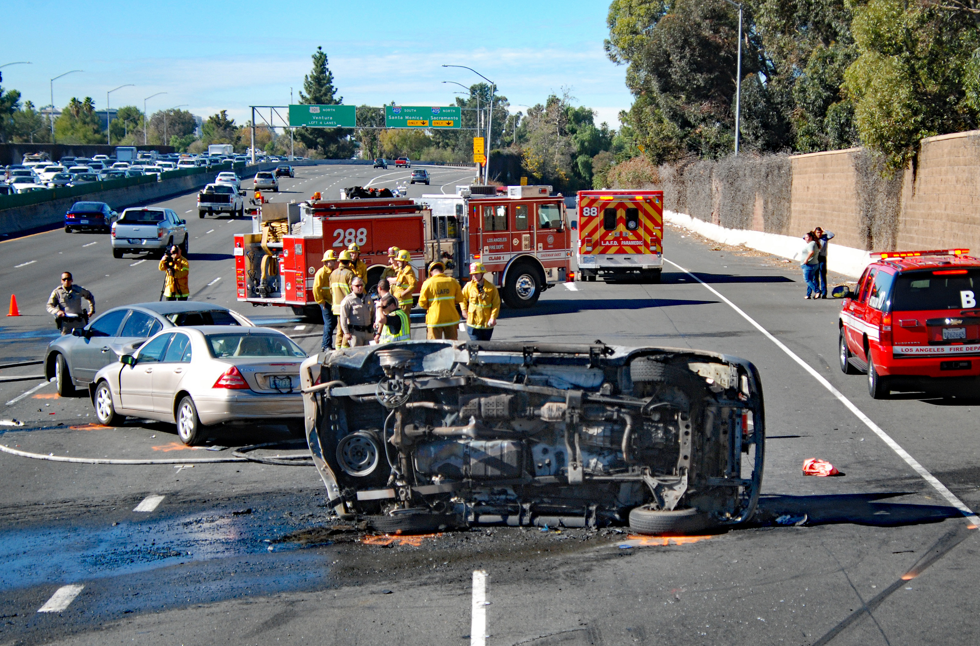 Accidentes en Riverside, California