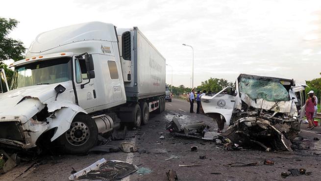 Accidentes con camiones