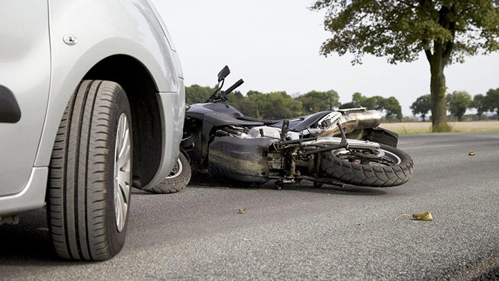 accidente en motocicleta en riverside