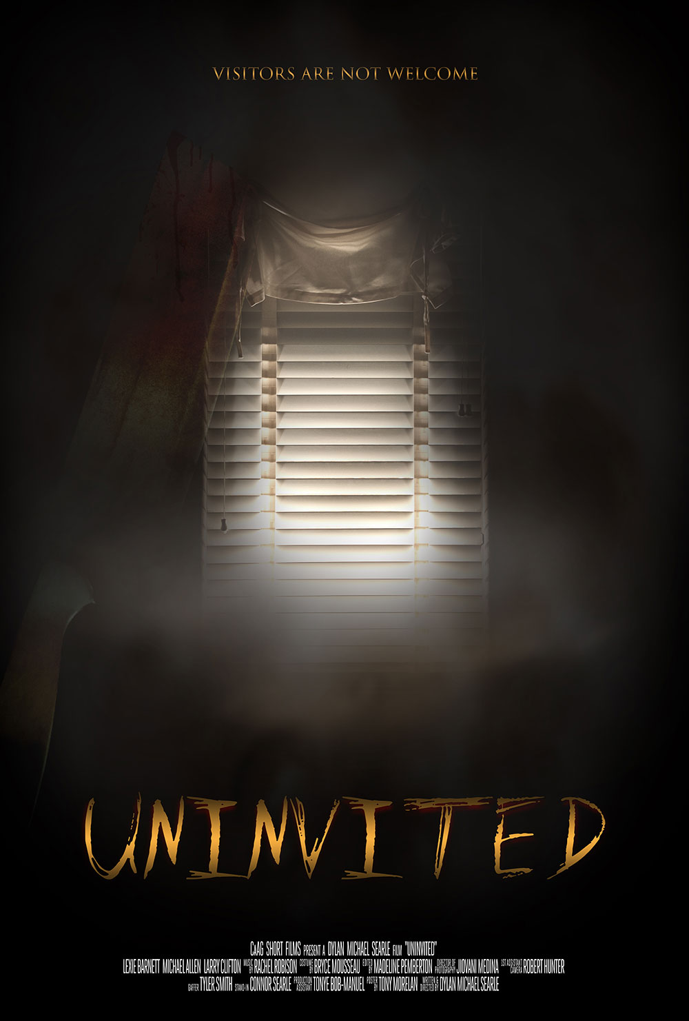 "Movie Poster ""UNINVITED"""