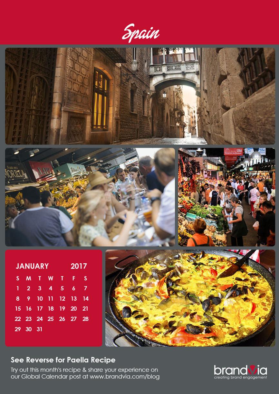 Brandvia Calendar