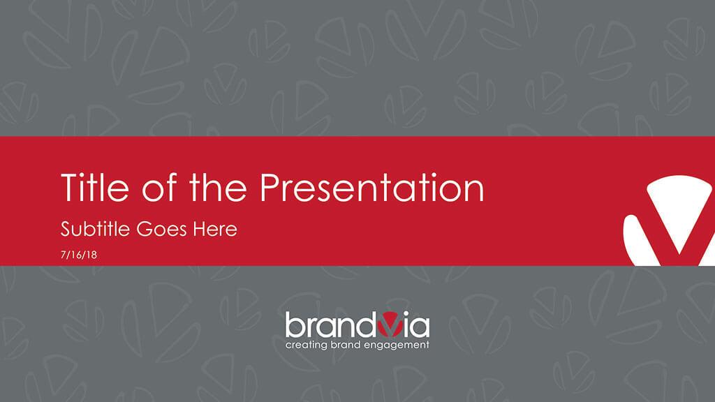 BrandVia Presentation