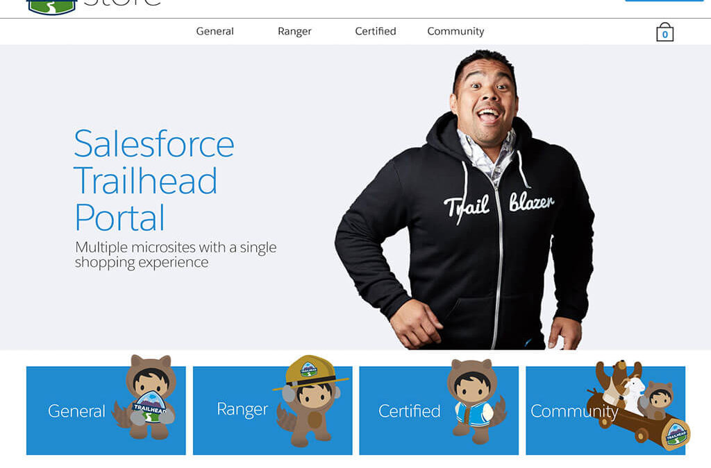 Salesforce Employee Store