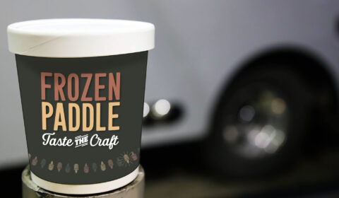 Frozen Paddle Pints Pickup and Delivery