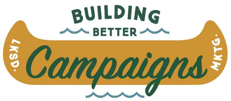 The header image for a how to build marketing campaigns illustration