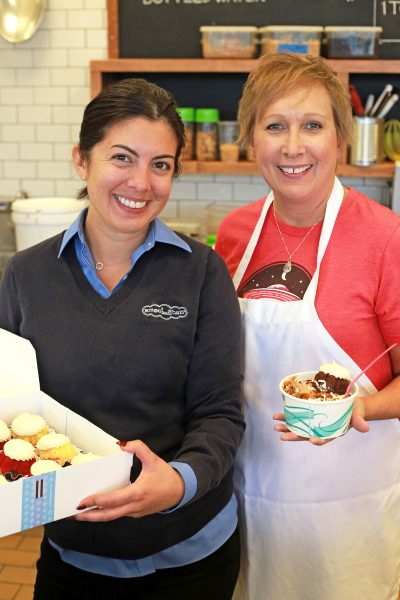 A photo of Linda Anderson of Julie Ann's Frozen Custard and Nothing but bundt cakes
