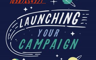 An illustration for launching product campaign marketing blog post