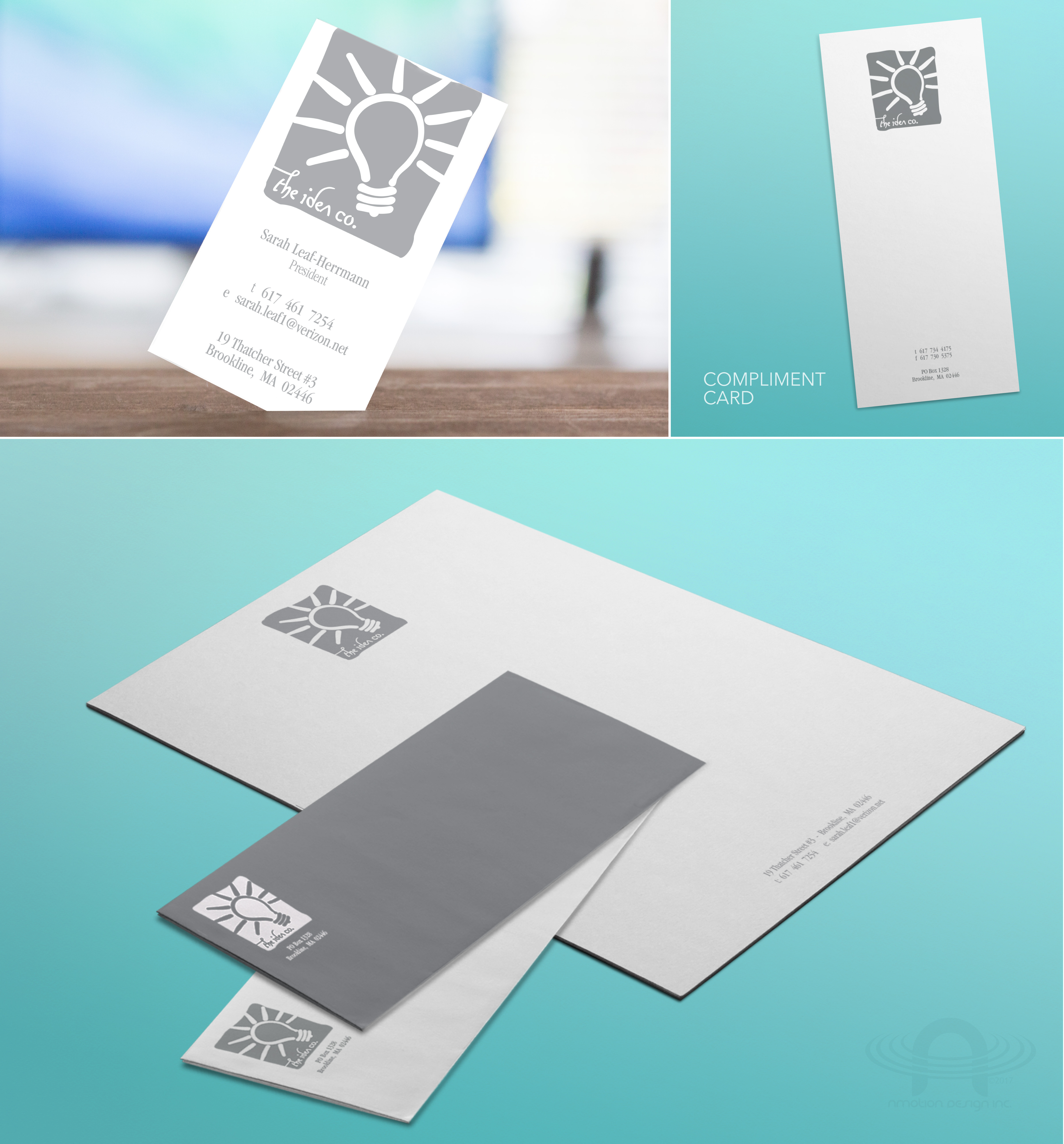 IDEA CO. FULL BRANDING AND SALES PACKAGE