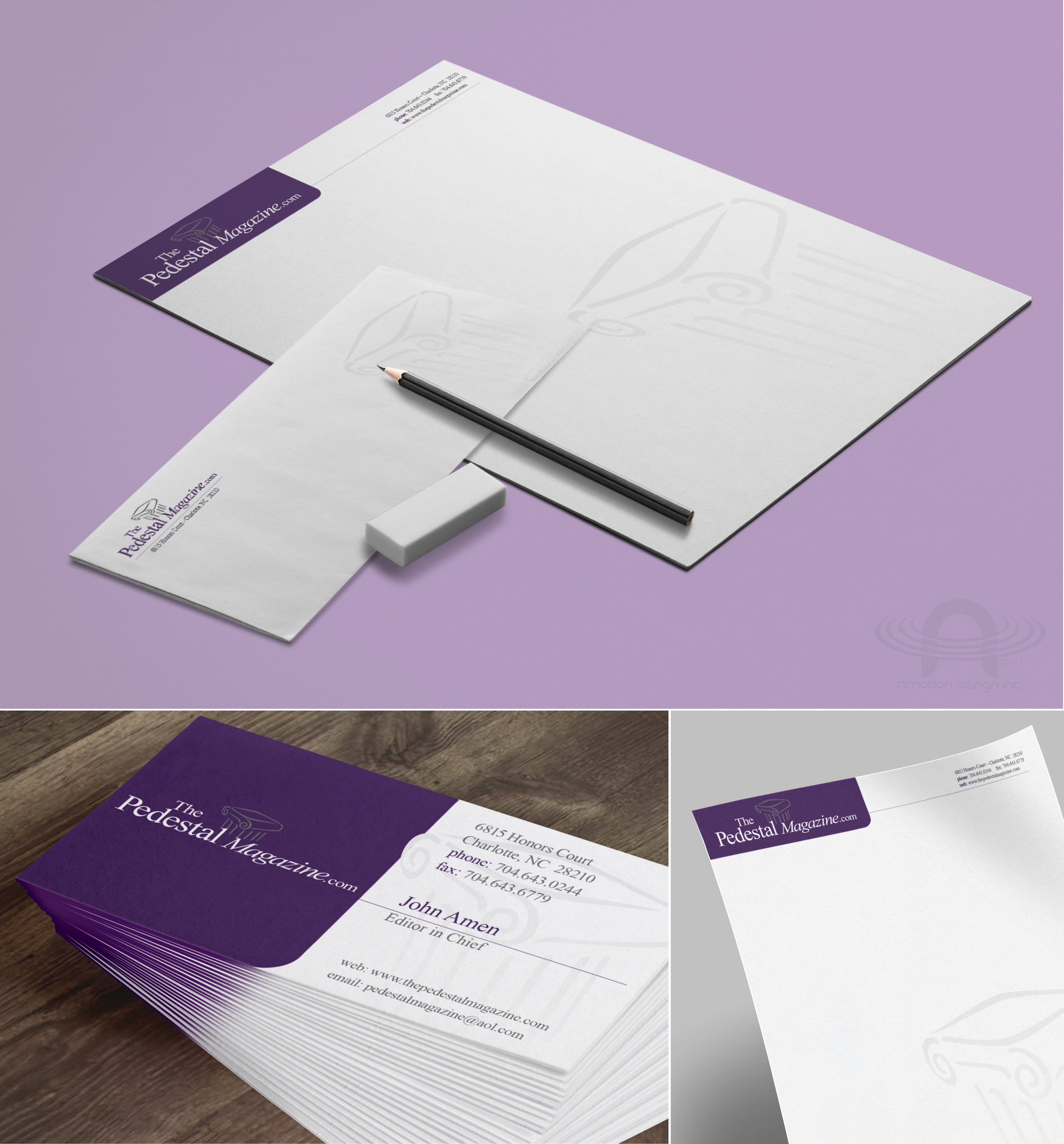 PEDESTAL MAGAZINE FULL BRANDING AND SALES PACKAGE