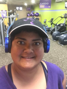 wendy steward of wendys way at the gym