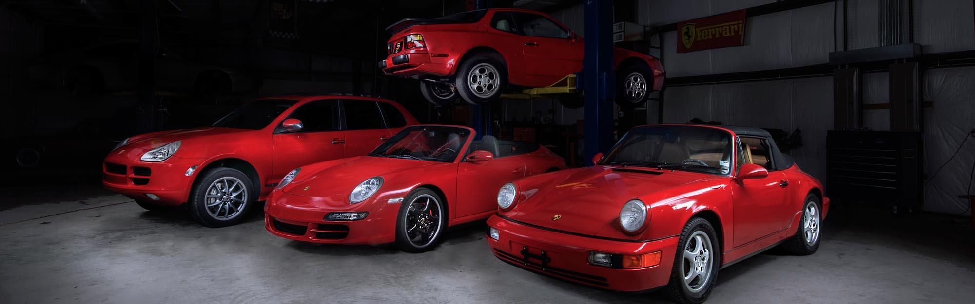 Porsche 911, C4S, 964, Cayenne, 944