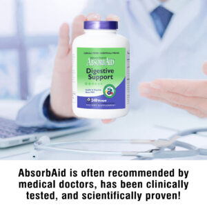 AbsorbAid Original 240 Digestive Enzymes doctor recommended