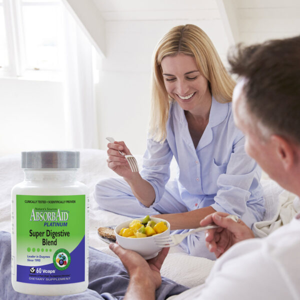 AbsorbAid Platinum 60 Digestive Enzymes breakfast