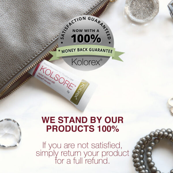 Kolsore Lip Care 100 percent guarantee