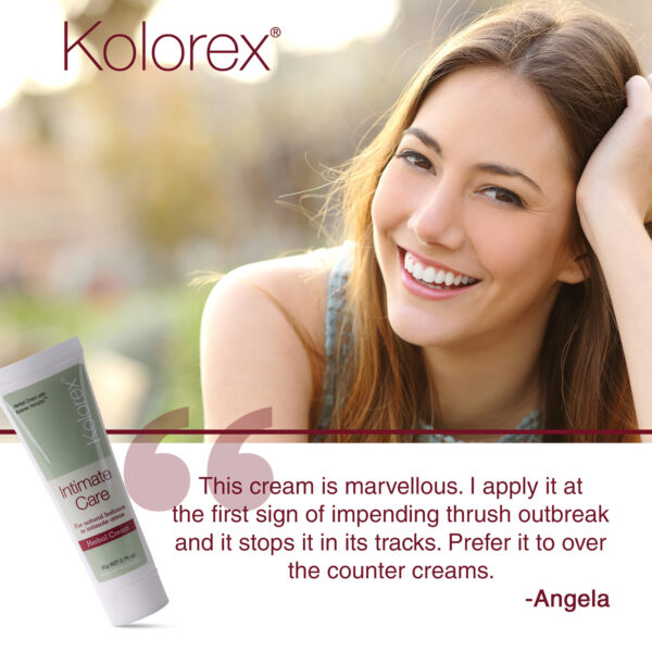 Kolorex Intimate Care Cream testimonial