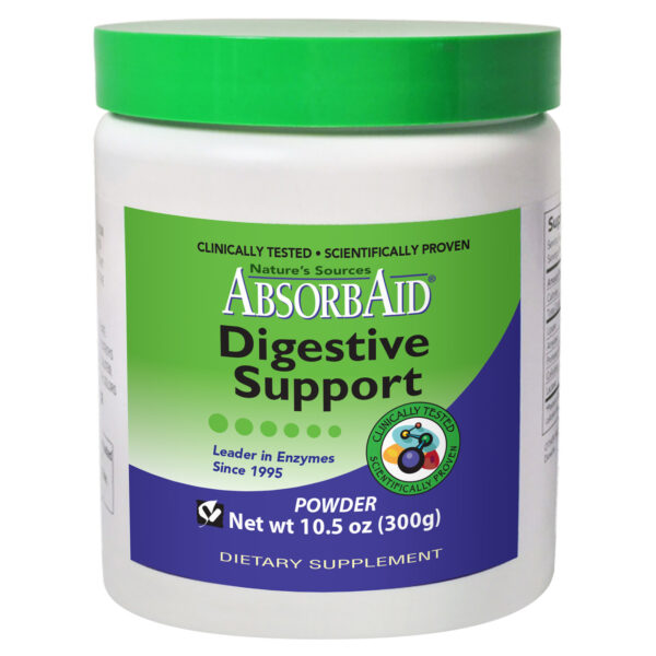 AbsorbAid Original 300g Digestive Enzyme Powder Bottle