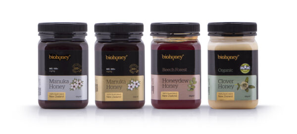 biohoney Group honey products