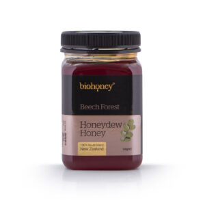 Biohoney Honeydew Honey 500g bottle