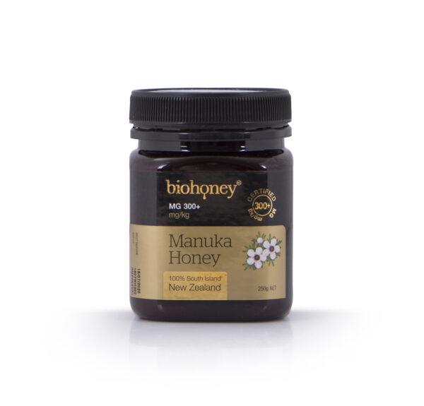 Biohoney Manuka Honey 300 plus MG 250g bottle