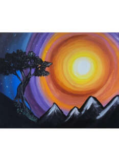 calgary Paint night