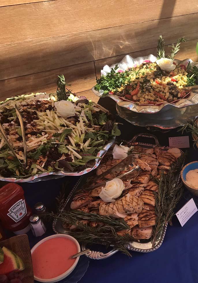 Grilled Chicken -Salad Platters