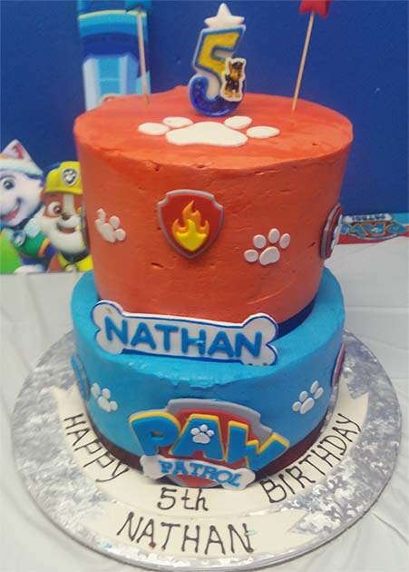 Birthday Cake for Nathan Edited