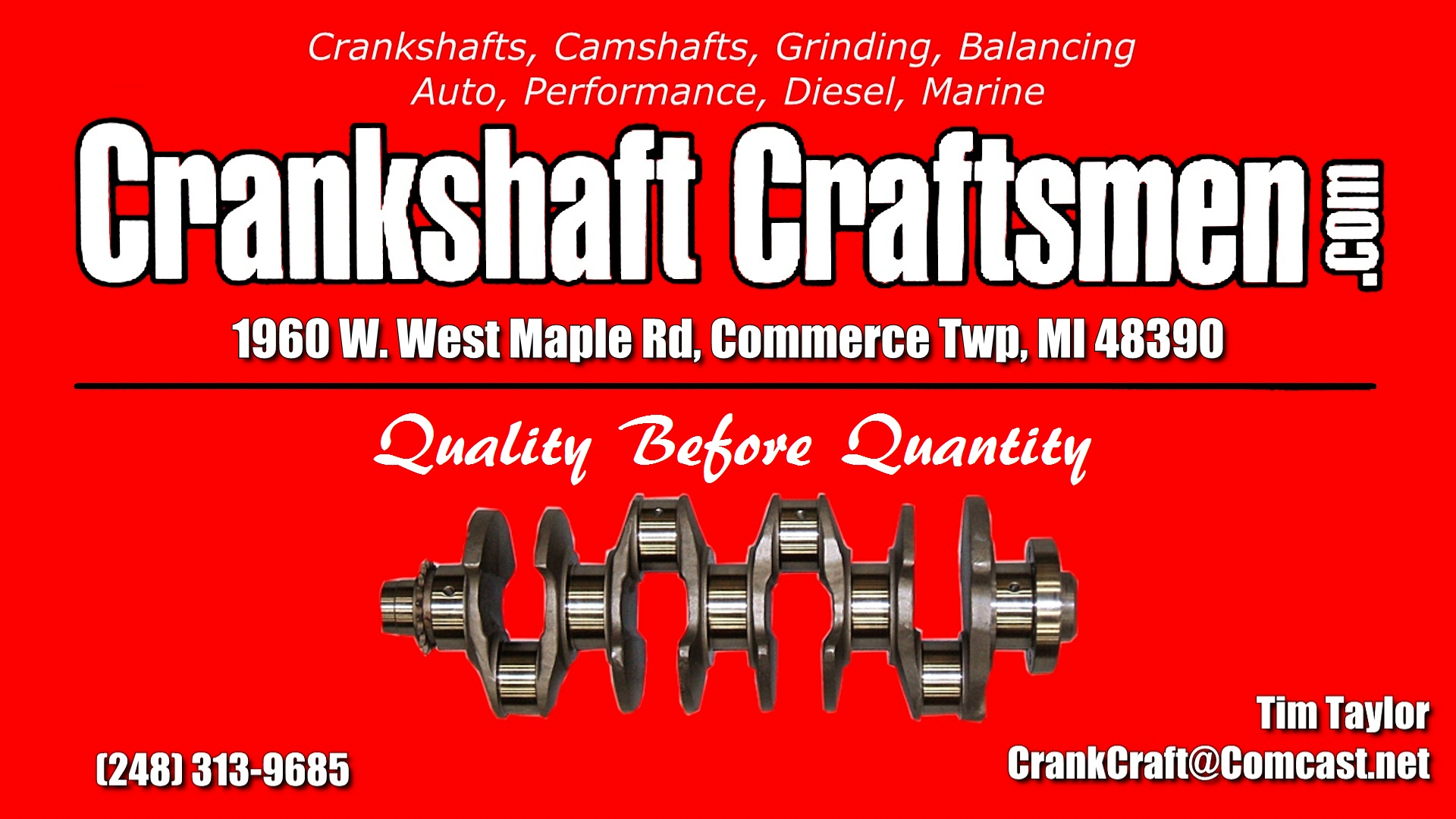 CrankShaft Craftsman