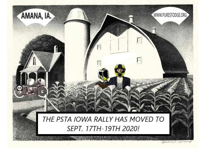 2020 Iowa Pure Stodge Rally – New Date