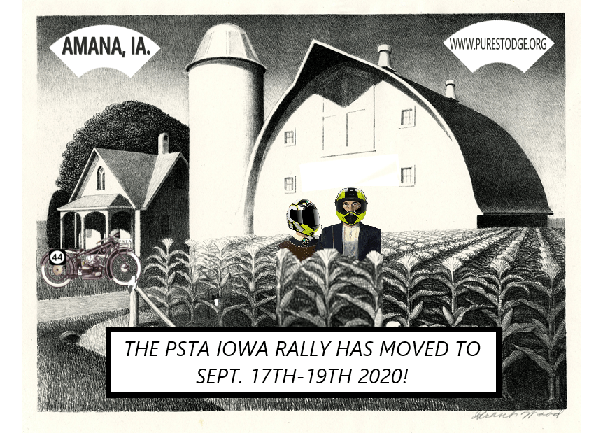 2020 Iowa Pure Stodge Rally – New Date