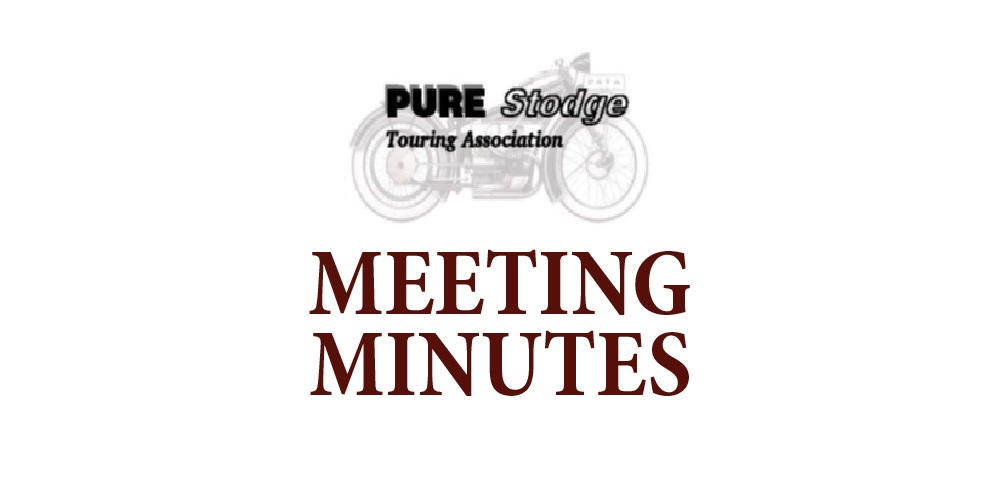 Meeting Minutes – September 20, 2020