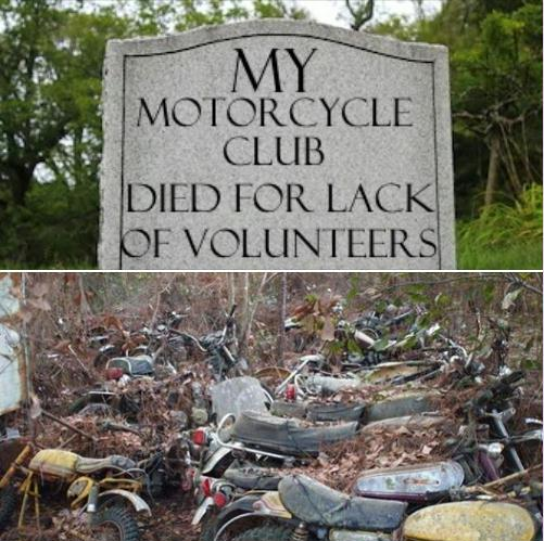 The Decline of the Motorcycle Club