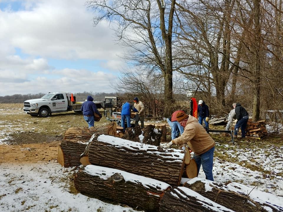 PSTA Wood Splitting Party