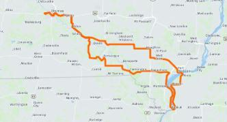 Ride Route Planning