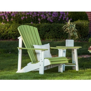 Deluxe Adirondack Chair in Recycled Plastic (Poly)