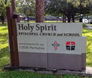 Holy Spirit Episcopal Sign