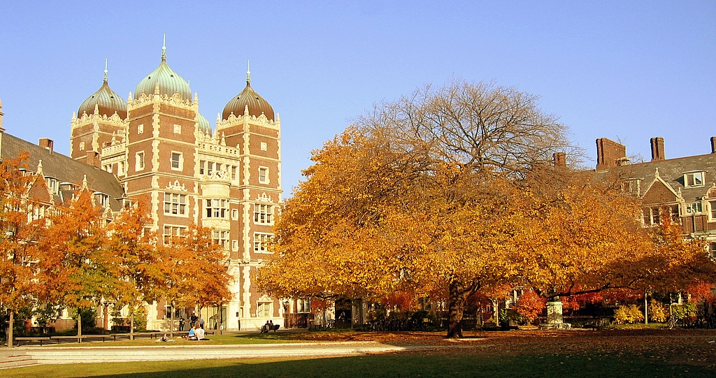 """Penn campus 2"" by Bryan Y.W. Shin at the English language Wikipedia. Licensed under CC BY-SA 3.0 via Wikimedia Commons."