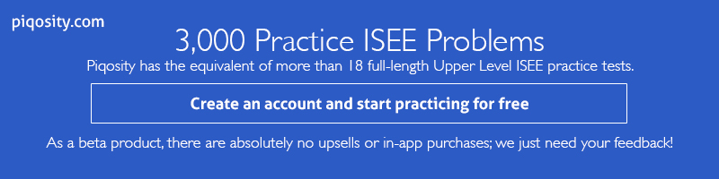 Practice-ISEE-Tests-Piqosity