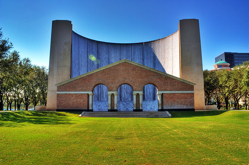 The Gerald D. Hines Waterwall (Wikipedia)