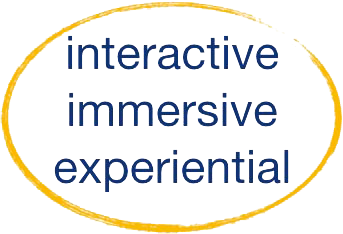 Blue Fire Leadership immersive interactive experiential