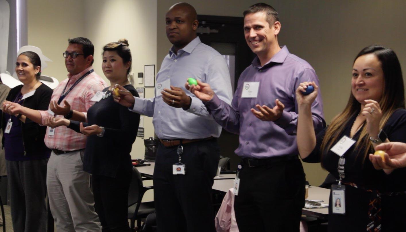 Blur Fire Leadership Corporate Events