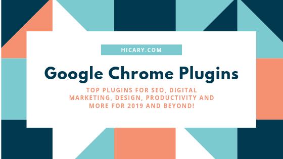 google chrome plugins seo