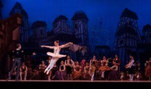 ballet stage dancers