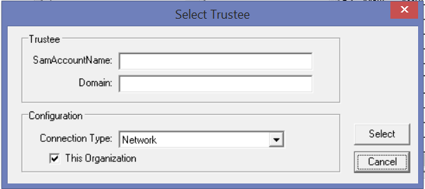 Select Trustee