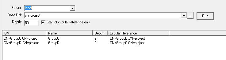 group loop start