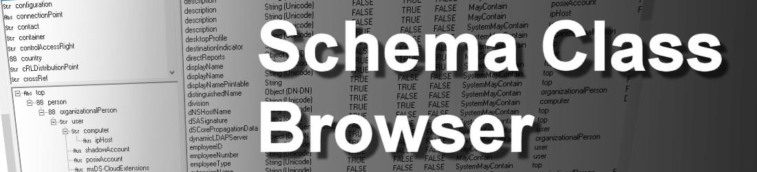 schema class browser