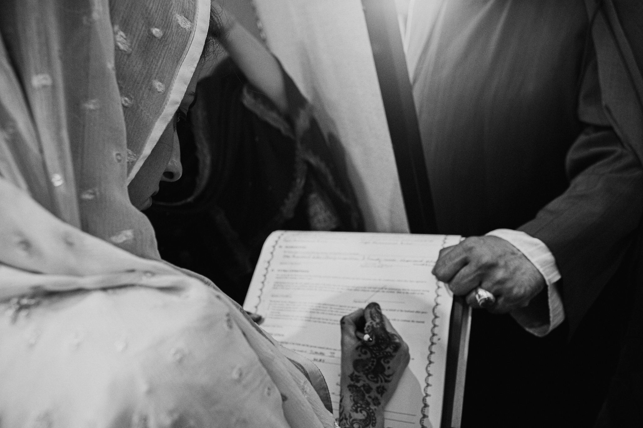 Nikah wedding traditional ceremony documentary photo